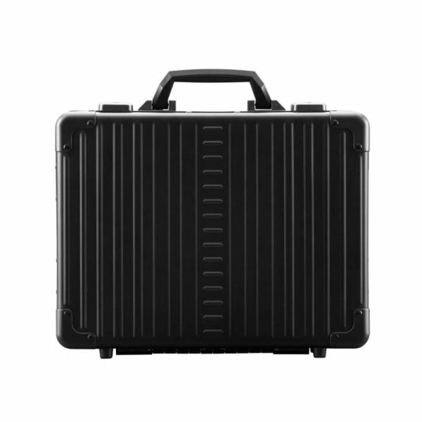 black aluminum briefcase for business