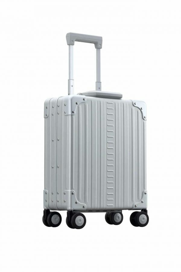 16 in under seat aluminum carry on silver