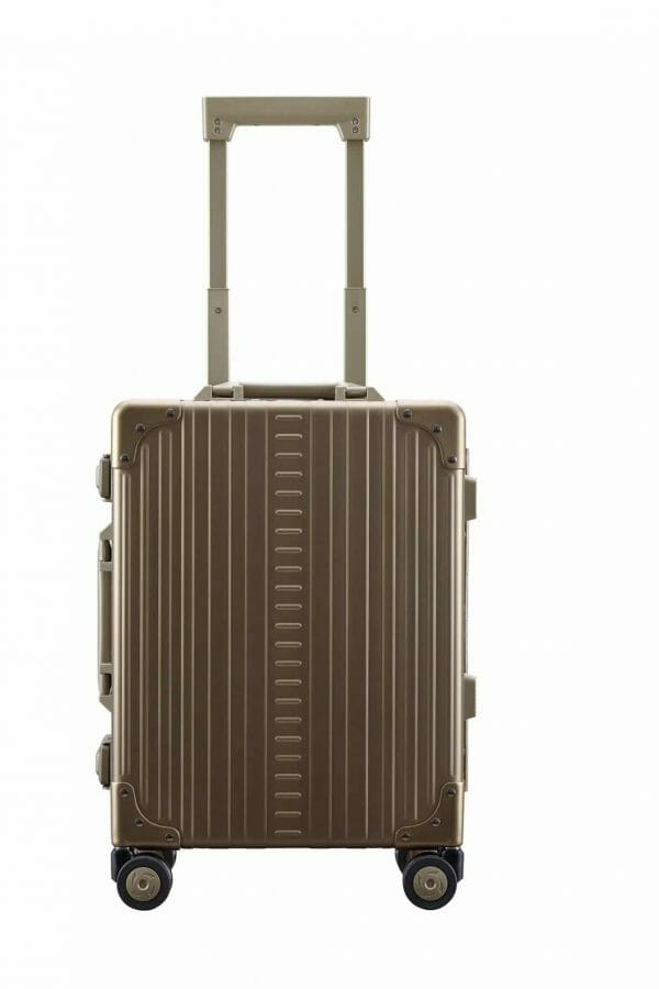 International Carry-On Luggage bronze international suitcase