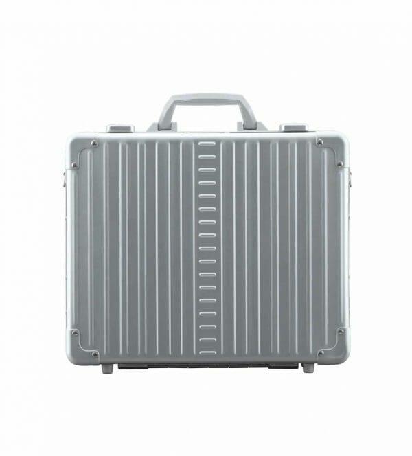 17 inch aluminum briefcase attche sliver