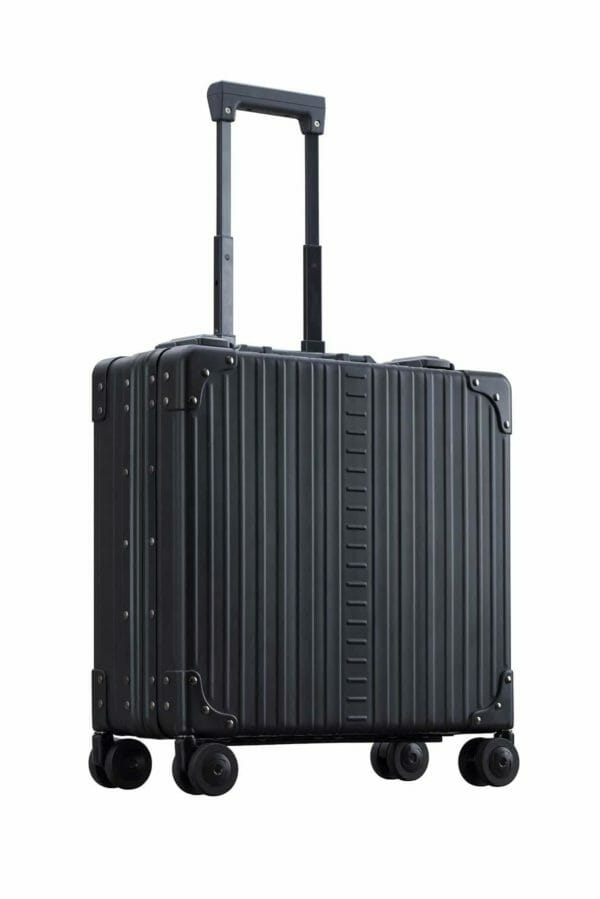 17 inch black wheeled business case