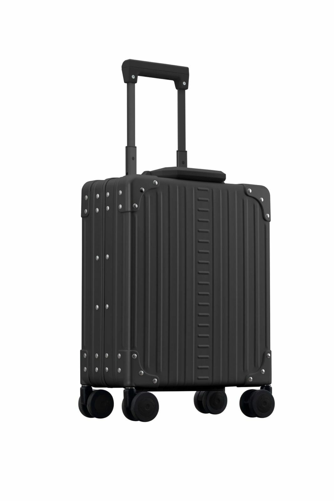 Black 16 inch vertical underseat carry-on