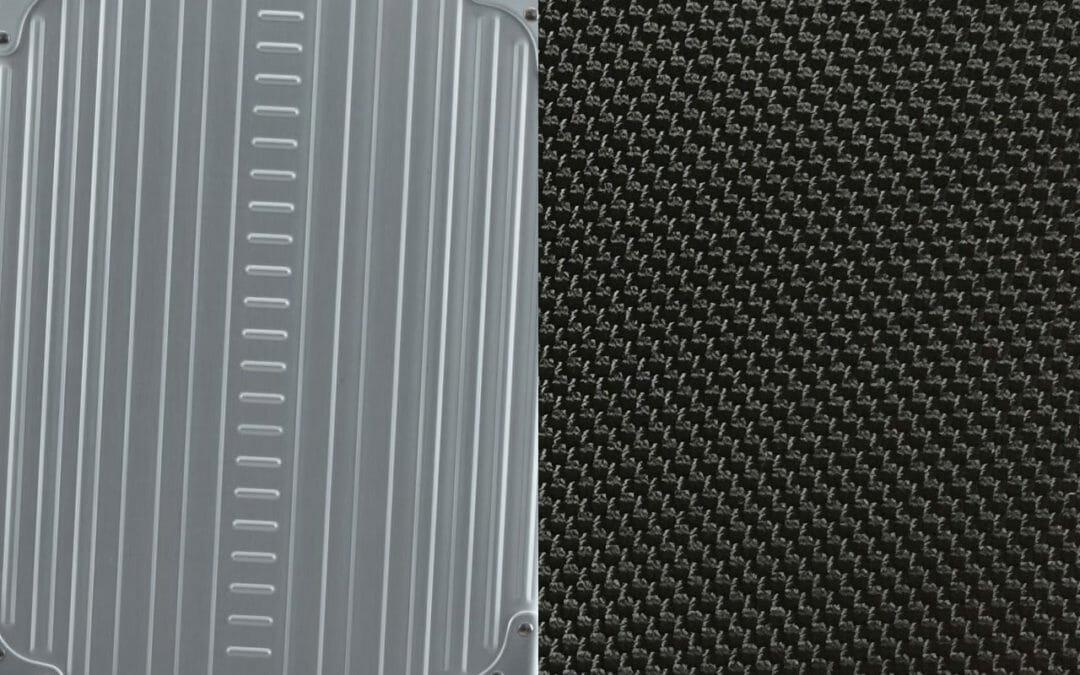 aluminum suitcases vs fabric